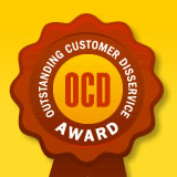 Covad Wins Outstanding Customer Disservice Award